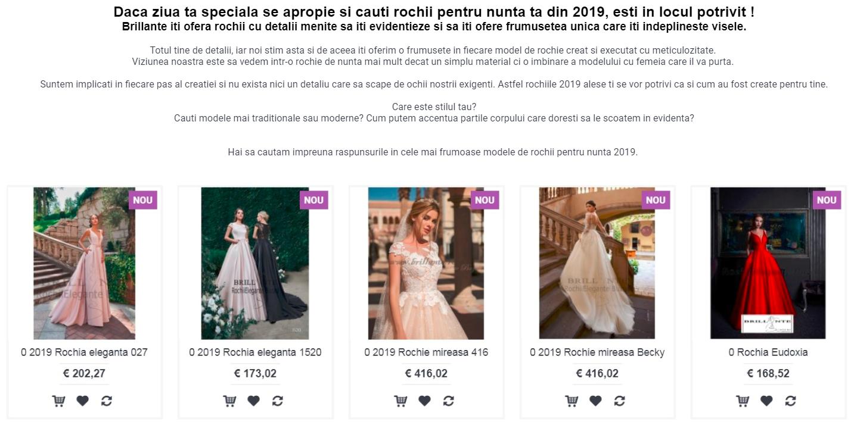 Rochii Nunta Focsani