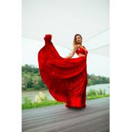 0 Rochie eleganta plisata